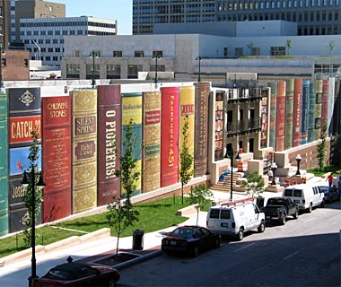 Kansas City Public Library in 'Top 9 Fantastic Architectures over the World': ranks ?