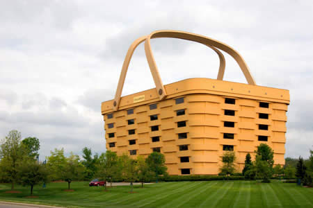 The Basket Building U.S in 'Top 9 Fantastic Architectures over the World': ranks ?