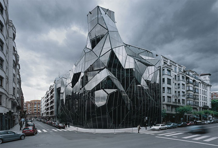 Basque Health Department Building in 'Top 9 Fantastic Architectures over the World': ranks ?