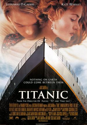 Titanic in 'Top Tragedy Movies in the World': ranks 1