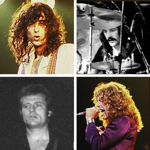 Led Zeppelin in 'Top Rock Band in the World': ranks ?
