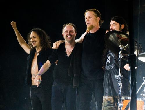 Metallica in 'Top Rock Band in the World': ranks ?