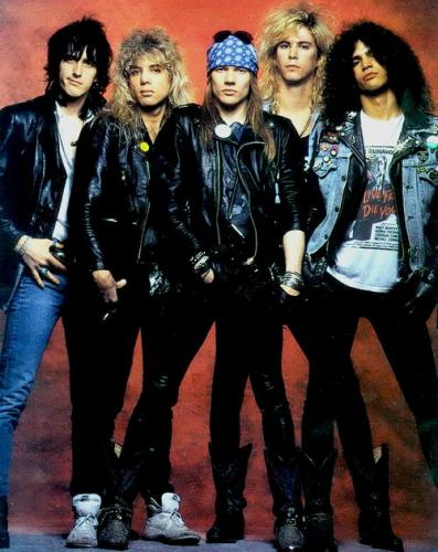 Guns N Roses in 'Top Rock Band in the World': ranks ?