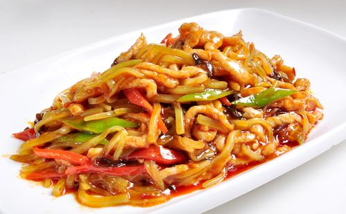 Fried Shredded Pork with Chili Sauce in 'Best Chinese Foods/Cuisines': ranks 5