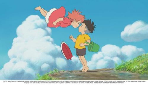 Ponyo on the Cliff by the Sea in 'top 10 popular animation made by Hayaomi Yazaki': ranks ?