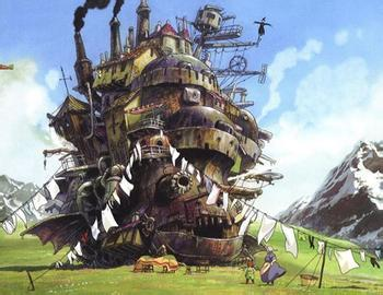 Howl's Moving Castle in 'top 10 popular animation made by Hayaomi Yazaki': ranks ?
