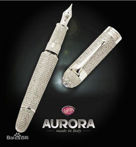 AURORA in 'top 10 famous pen brand in the world 2014': ranks ?