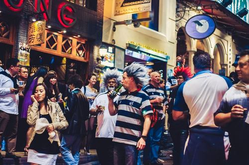 Lan Kwai Fong in 'Best Attractions in Hong Kong': ranks ?