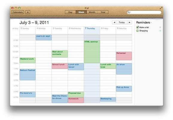 iCal in 'Best Calendar Software 2013': ranks ?